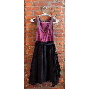 One September Silk Skirt Dress